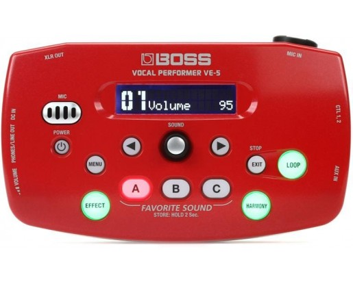 BOSS VE 5 RD - VOCAL PERFORMER