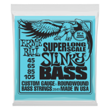 CORZI CHITARA BASS ERNIE BALL SUPER LONG SCALE SLINKY 2849
