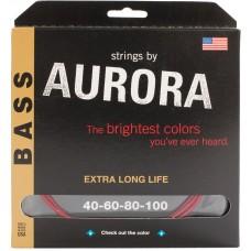 Corzi chitara bass - Aurora 40-100, Pink
