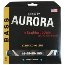 Corzi chitara bass - Aurora 45-135, White - 5 Corzi