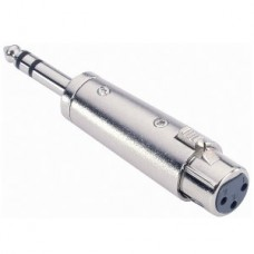 ADAM HALL ADAPTOR 7856 JACK 6.3 XLR