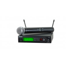 SHURE MICROFON WIRELESS SLX24/SM58