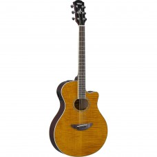 YAMAHA APX 600 FLAME MAPLE AMBER